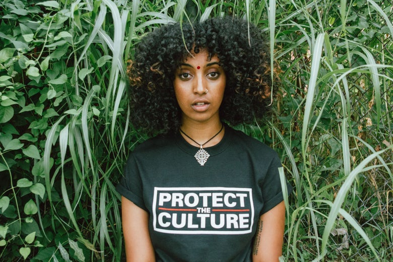 Image of Protect the Culture Border tee