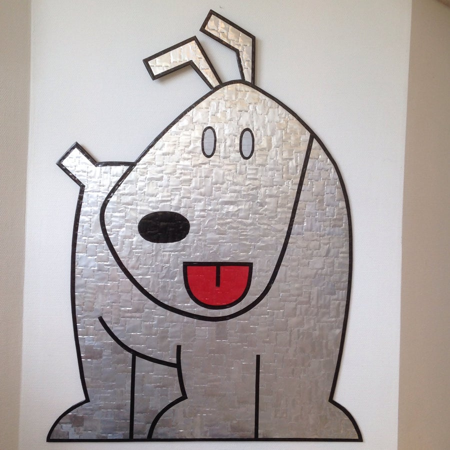 Image of Beer Can Dog