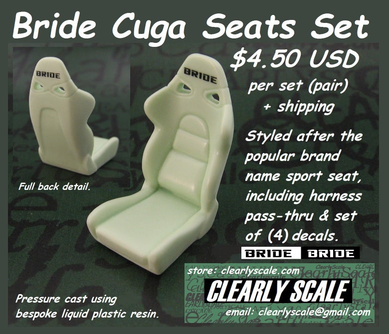 Image of Bride Cuga Seat Set with Decals
