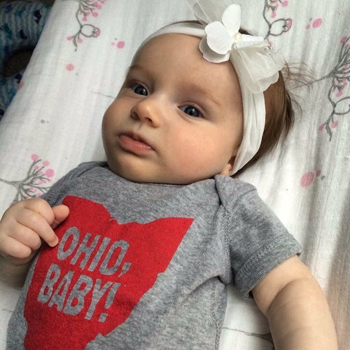Image of Ohio, Baby! Toddler Tee/ Baby Bodysuit