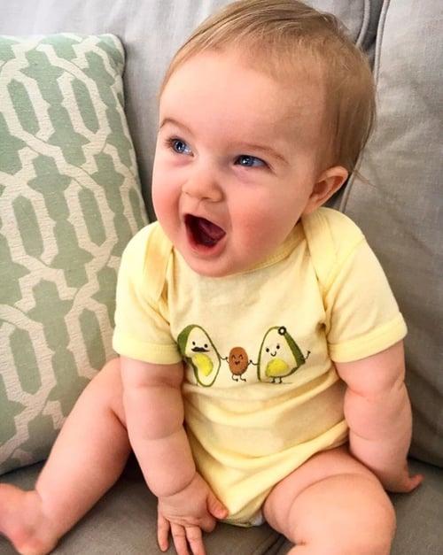 Image of Avocado Family! Toddler Tee/Baby Bodysuit