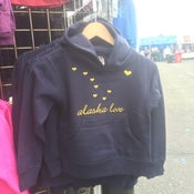 Image of Alaska Love Kid's Pullover- Navy
