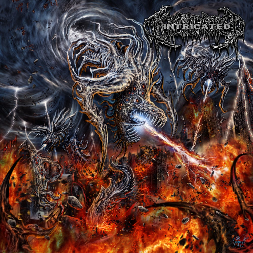 Image of Intricated - Vortex Of Fatal Depravity CD
