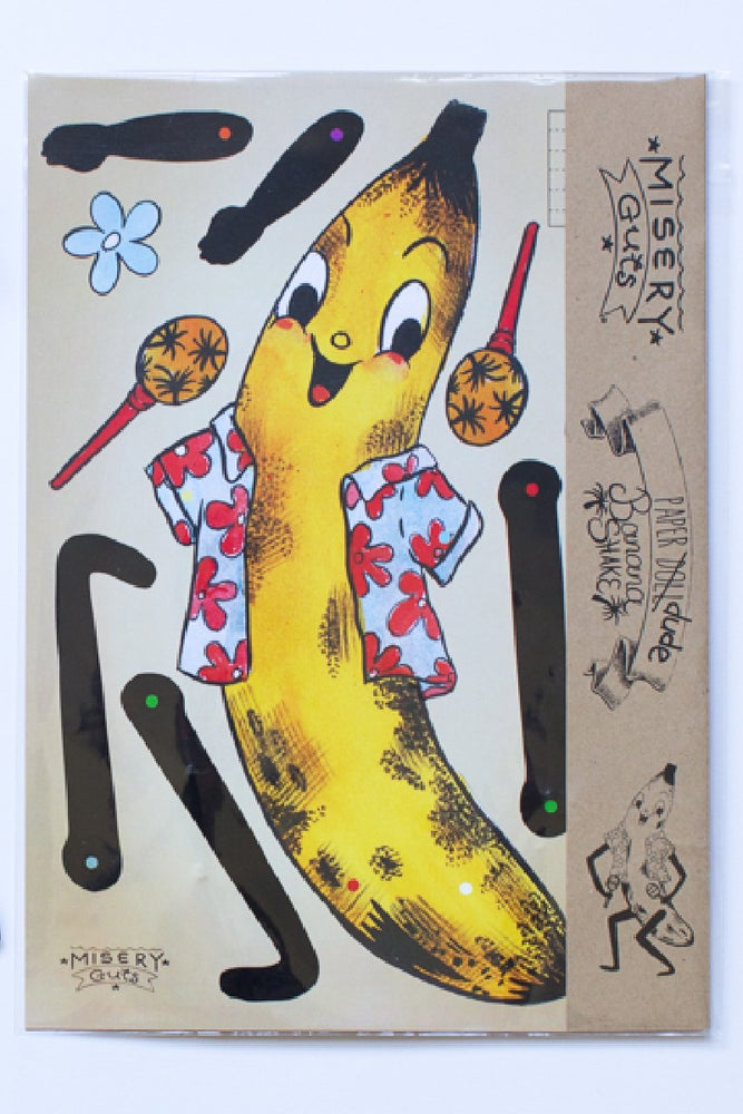 Image of Banana Shake Paper Dude