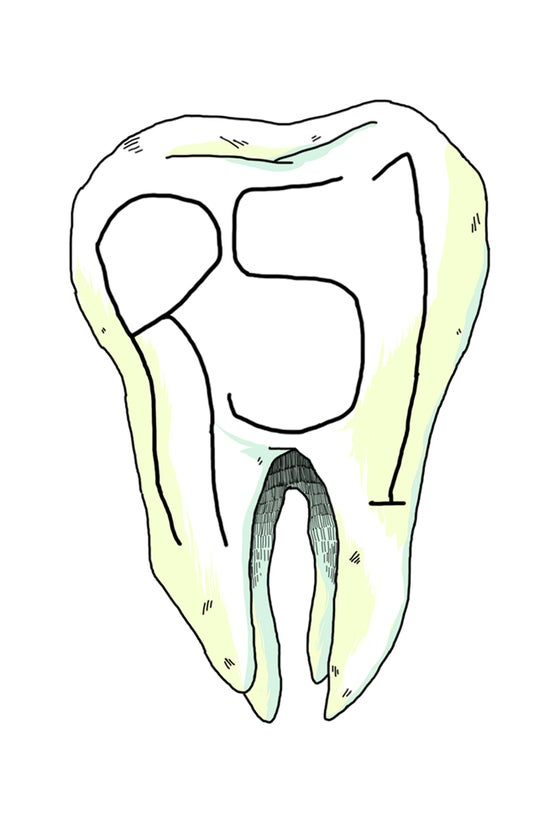 Image of Tooth Sticker