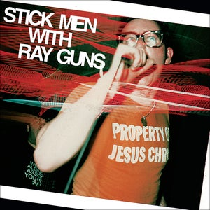 Image of STICK MEN WITH RAY GUNS bundle 'Property Of Jesus Christ' + '1000 Lives To Die' LP (12XU 079, 080-1)