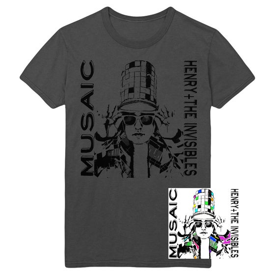 "Image of H+TI ""MUSAIC"" ALBUM COVER TEE+ CD Bundle"