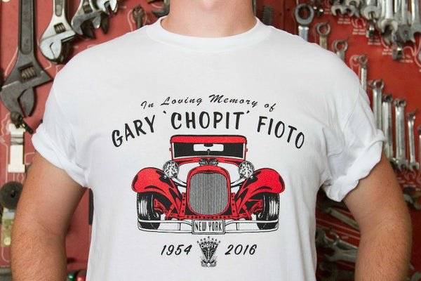 Image of Chopit Memorial shirt