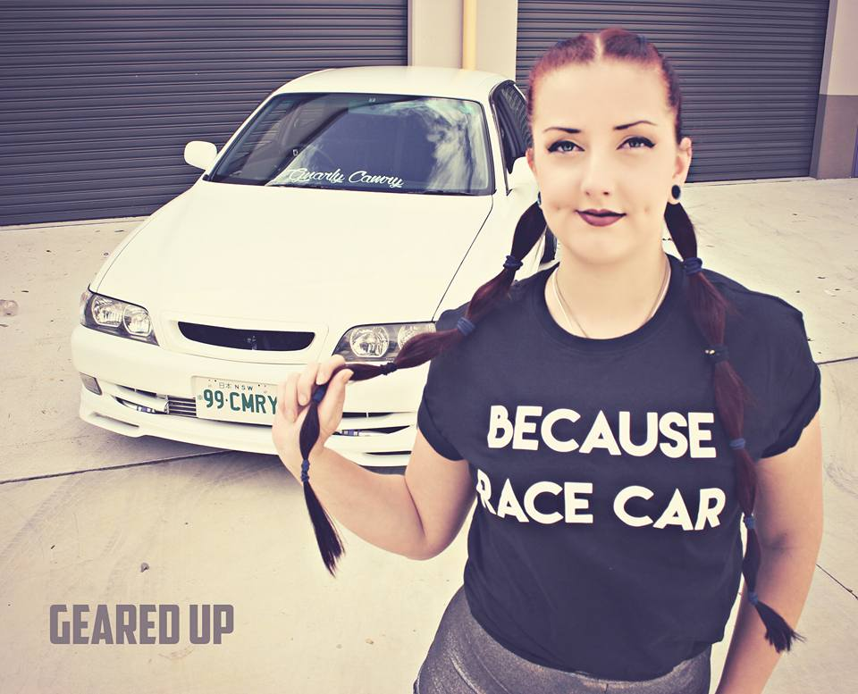Image of Unisex 'Because Race Car' Tee