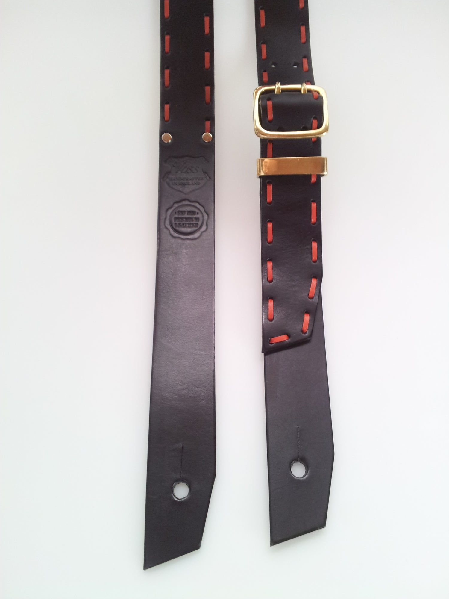 Image of Guitar Strap + Count Loop / Regency Red Thong / Colour Options