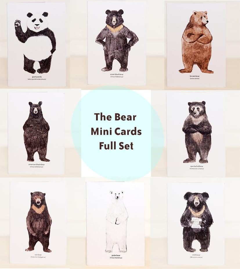 Image of The Bear Mini Cards Set