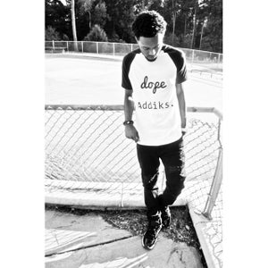 Image of Dope Addiks Baseball Tee