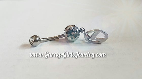 Image of Lexus Logo Belly Ring