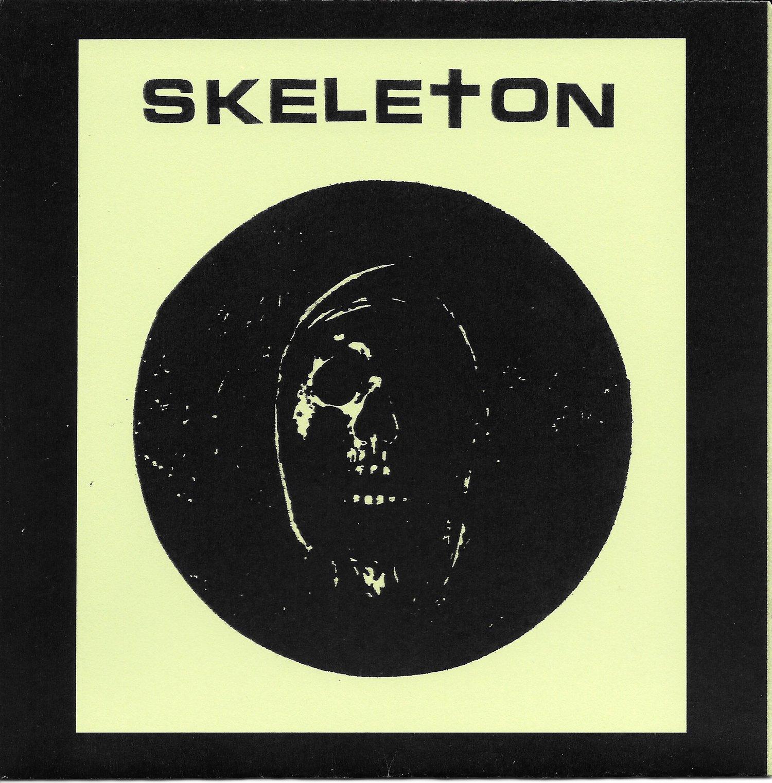 "Image of Skeleton ""I Hate I Skate"" flexi 7"""