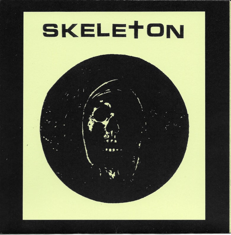 "Image of Skeleton ""I Hate I Skate"" flexi 7"""