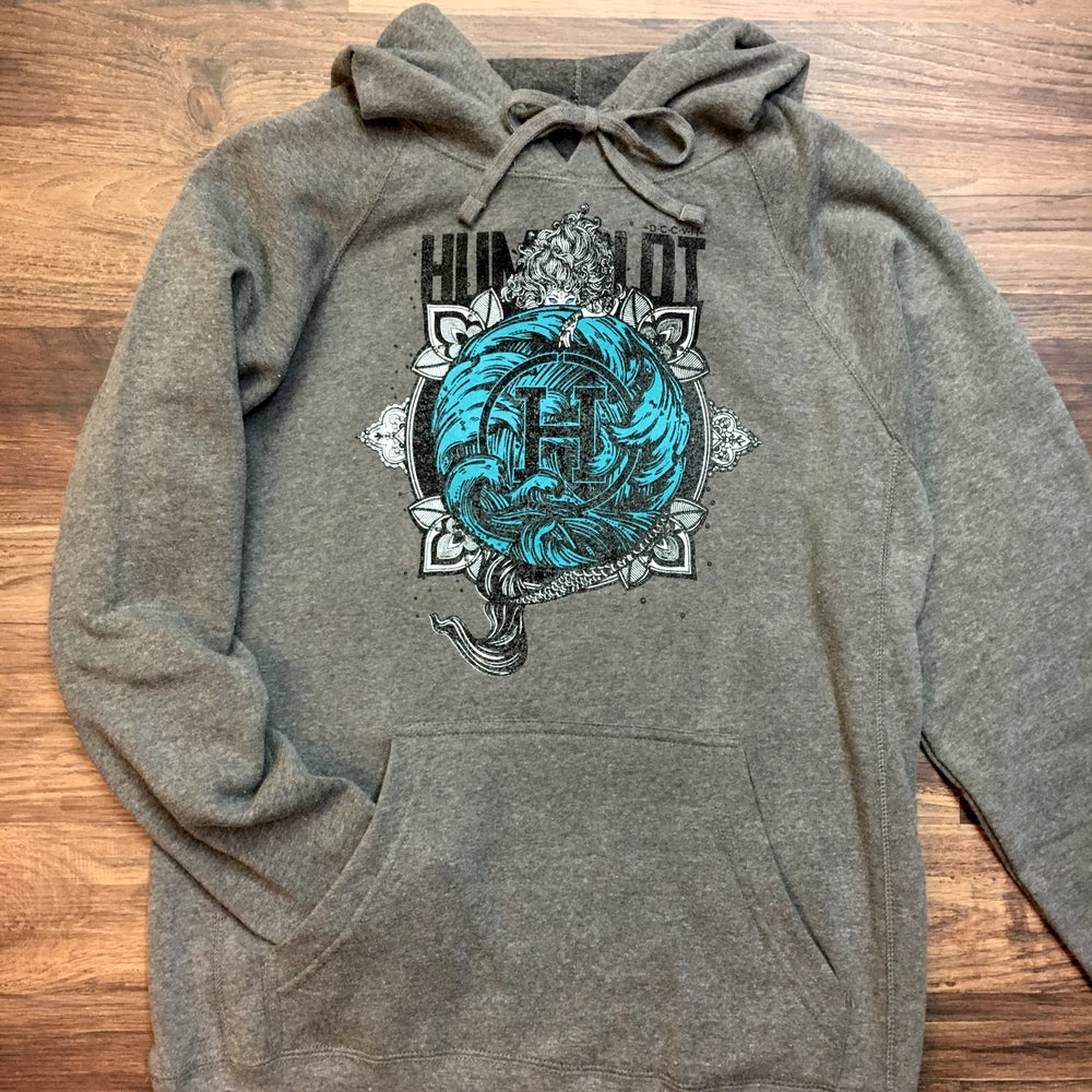 "Image of ""Maiden of the Sea"" Ladies Dual Print Hoodie"