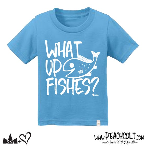 Image of What Up Fishes?, Youth Tee