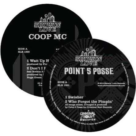 Image of Coop MC/Point 5 Posse Vinyl