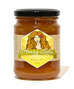 Image of Mallee (White) Honey 325g