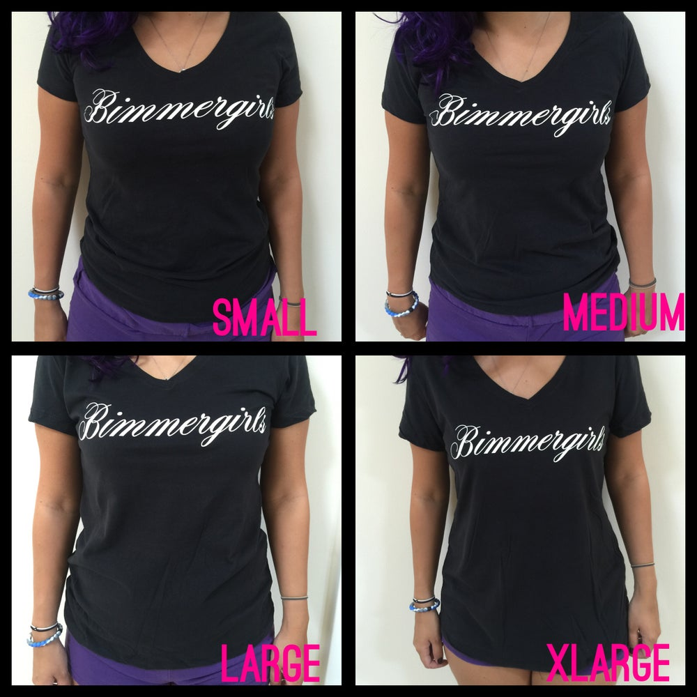 Image of bimmer girls v neck