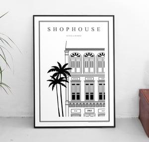 Image of Shophouse (Architectural Icon Series) (Fine Art Print)