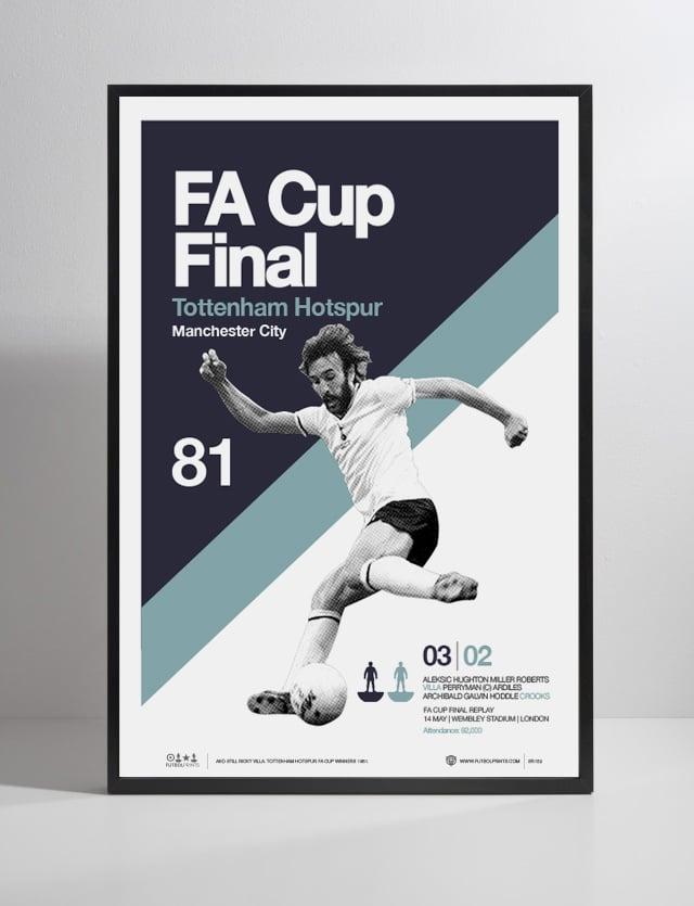 Image of TOTTENHAM HOTSPUR - FAC CUP 1981