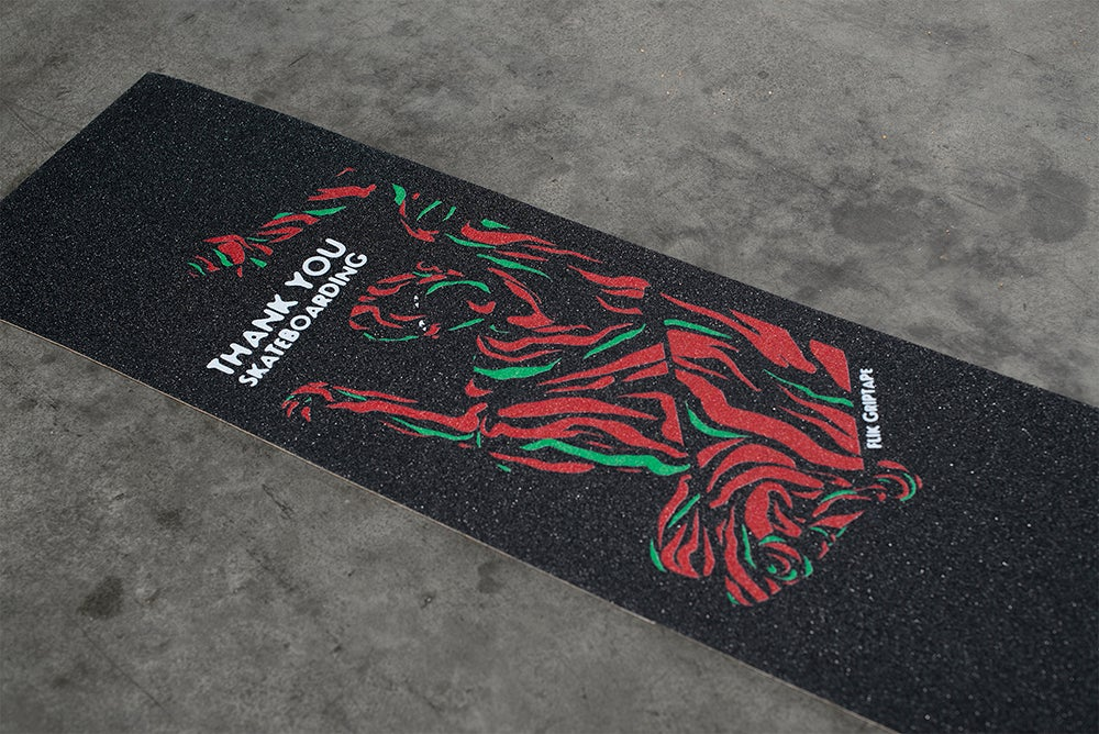 Image of Thank You Skateboarding Grip