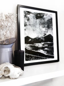 Image of A3 Mountainscape Digital print