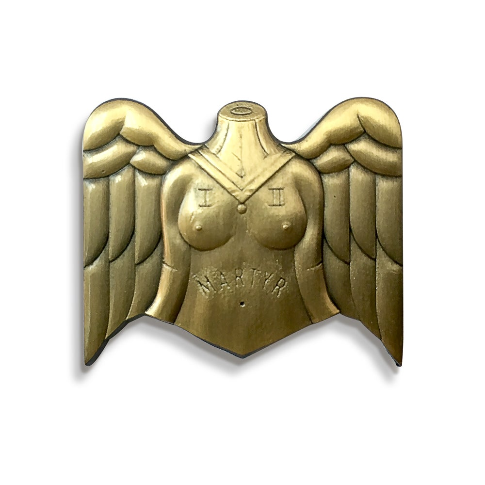 Image of Mother Martyr Pin