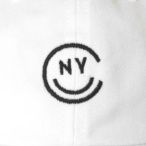 Image of NYC Smile Cap - White