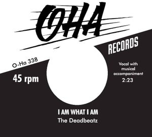 "Image of 7"" The DeadBeatz : Run I Am What I Am.  Ltd Edition 150 copies."