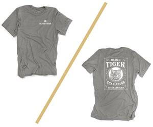 Image of Blind Tiger T-Shirt: Stone Grey