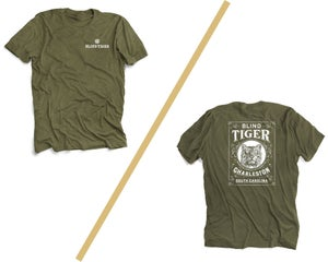 Image of Blind Tiger T-Shirt: Military