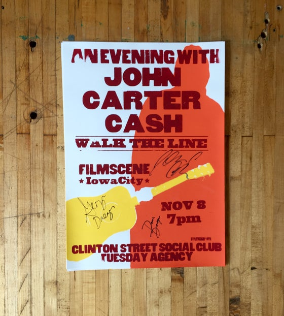 Image of Limited Edition John Carter Cash Poster