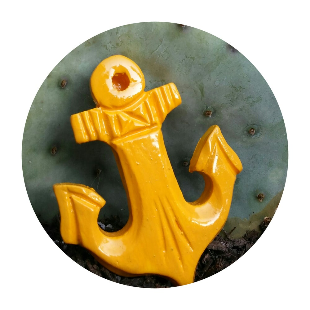 Image of You Are My Anchor brooch