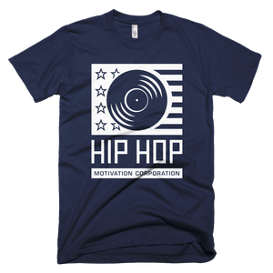 Image of Hip Hop Motivation Logo Men's T-Shirt