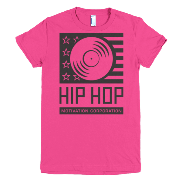 Image of Hip Hop Motivation Logo Women's T-Shirt