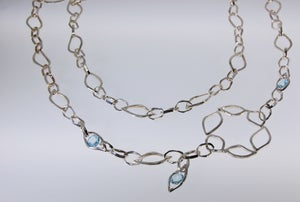 "Image of Tratti Blue 36"" necklace"