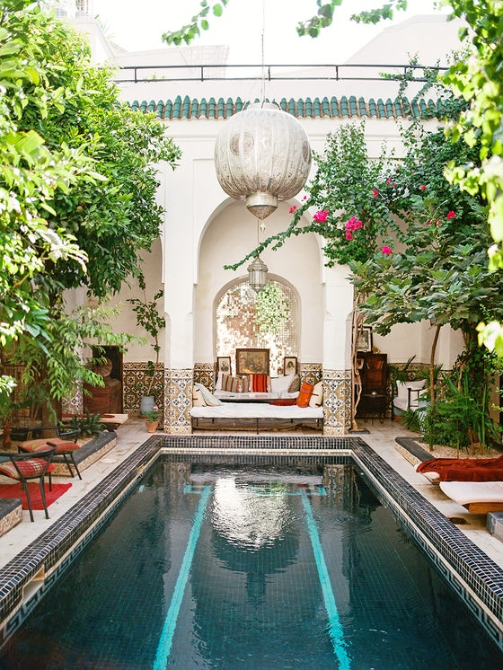 Image of Moroccan pool #1