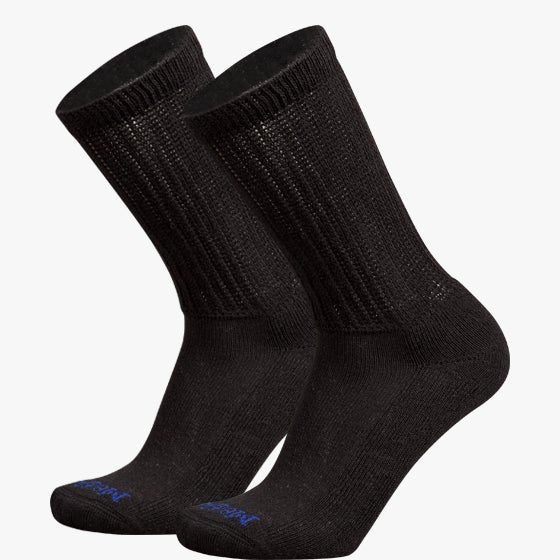 Crew Socks with COOLMAX® Fiber, 2 Pair - MediPeds