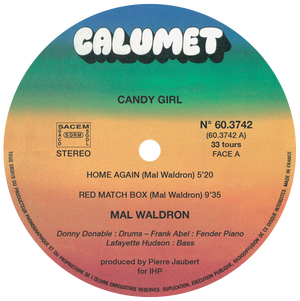 Image of Mal Waldron - Candy Girl - Exclusive Edition