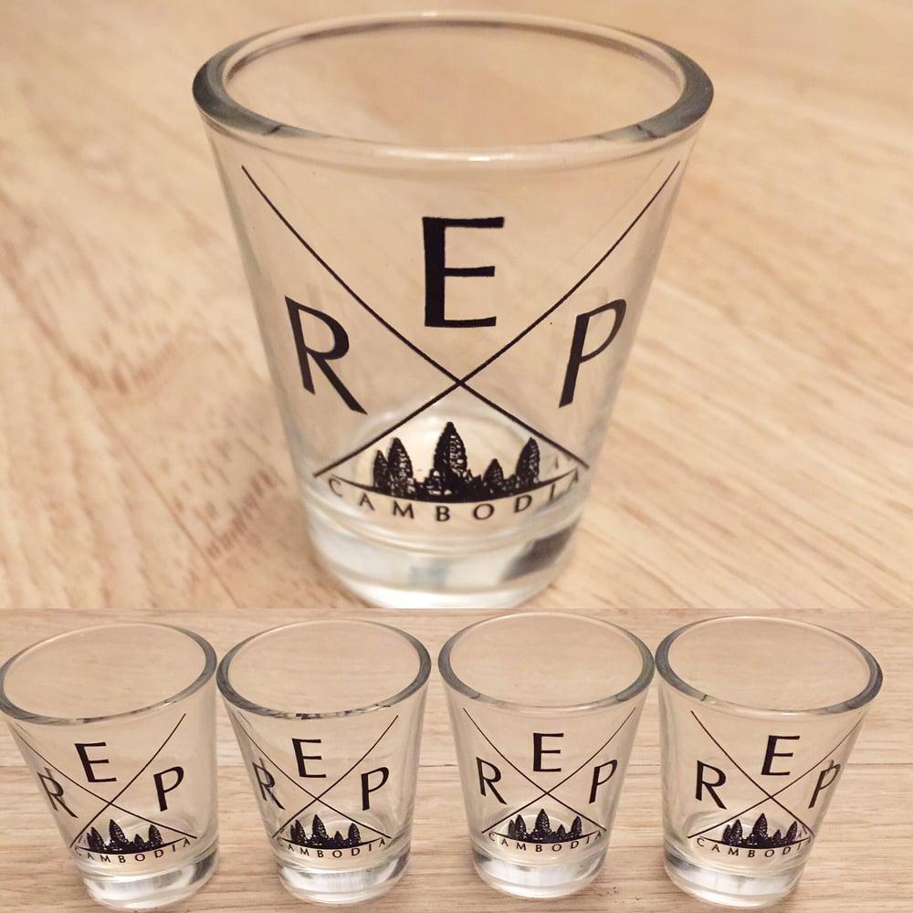 Image of REP CAMBODIA SHOT GLASS