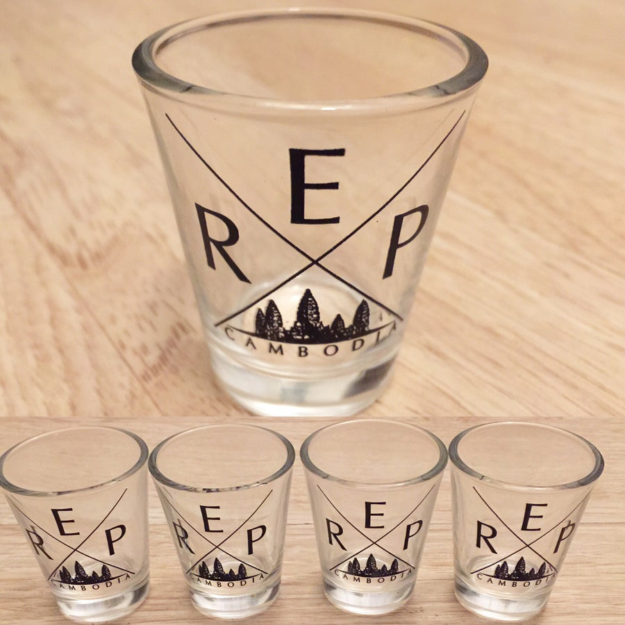 Image of REP CAMBODIA SHOT GLASS