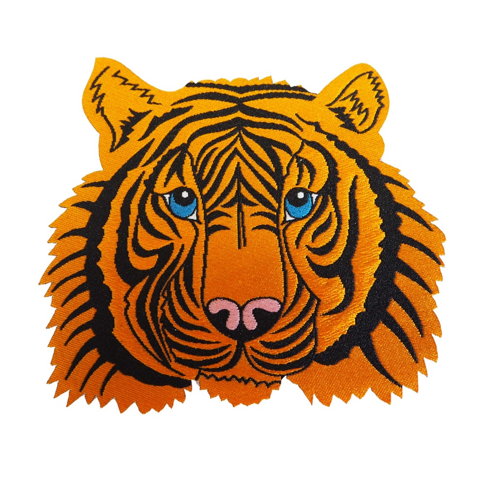 Image of Tiger Iron-on Patch