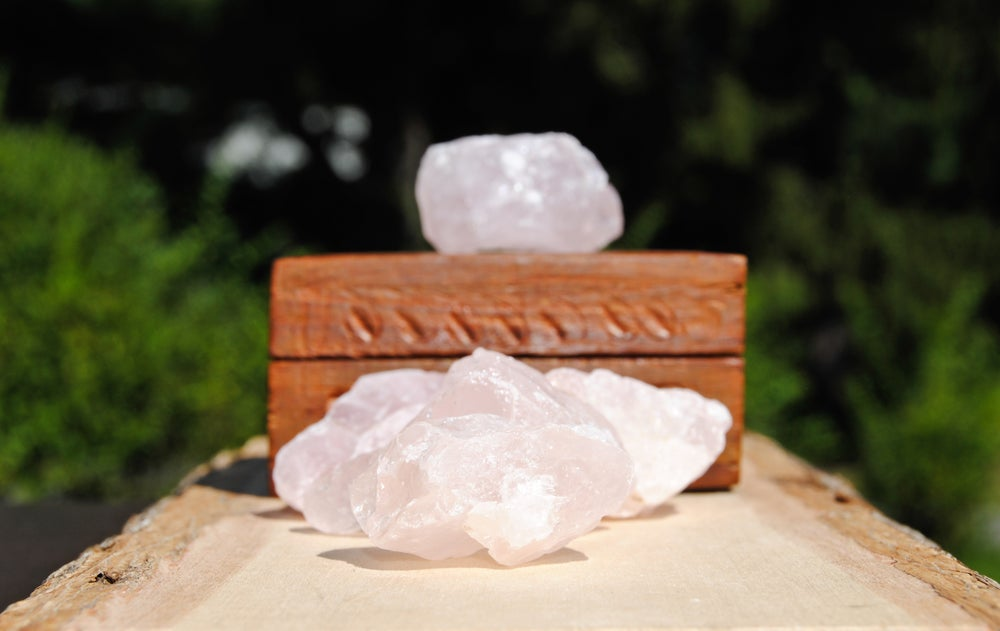 Image of Raw Rose Quartz