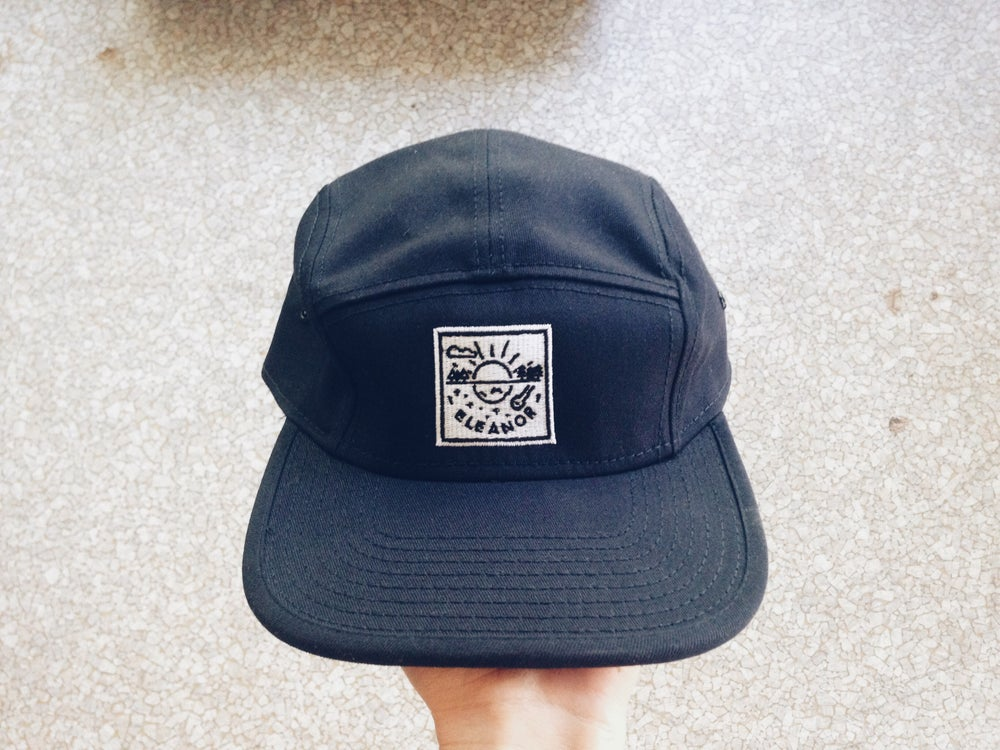 Image of Sun and Moon 5 Panel Hat