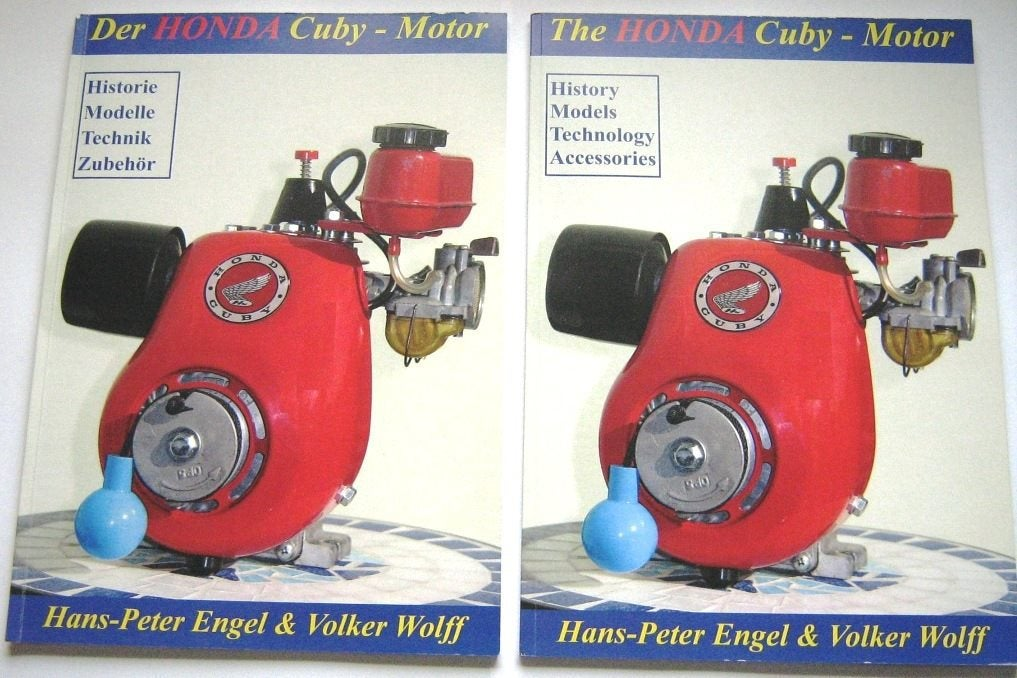 Image of The Honda Cuby Motor Paperback