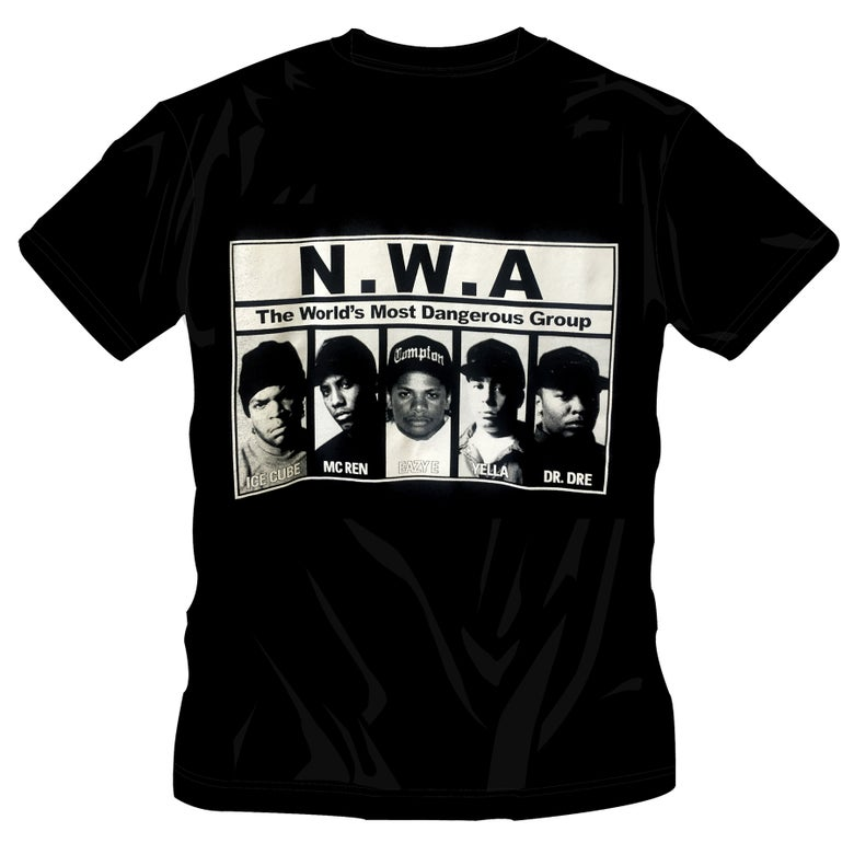 Image of #24 N.W.A.  - GROUP T-SHIRT