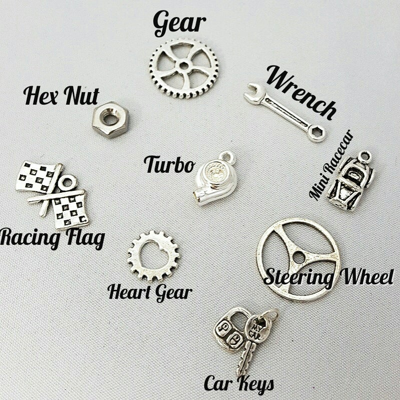Image of Car Part Lariat Necklaces