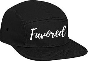 Image of Favored Cap Blk & White